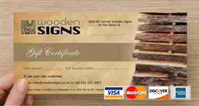 exaple of gift certificate